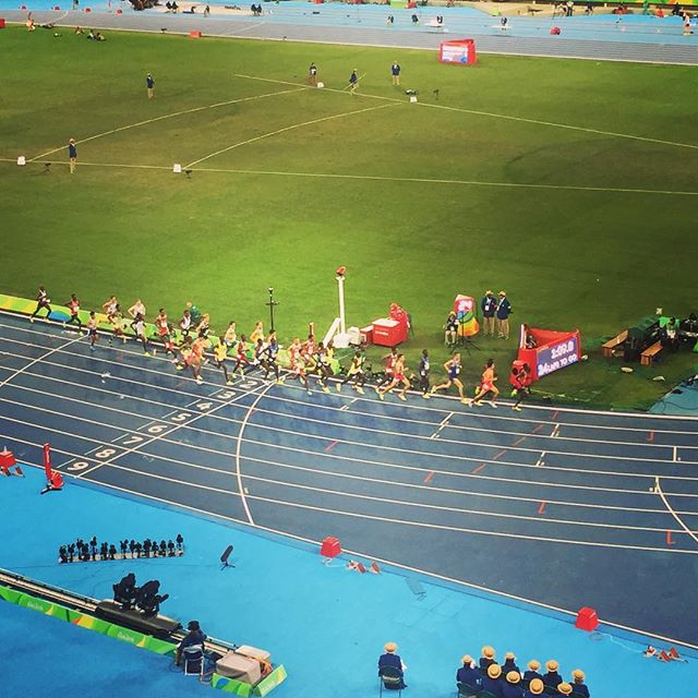 Was lucky enough to see the 10,000 meter final last week in rio.  Stunned by #mofarah and his tenacity and wild closing speed!