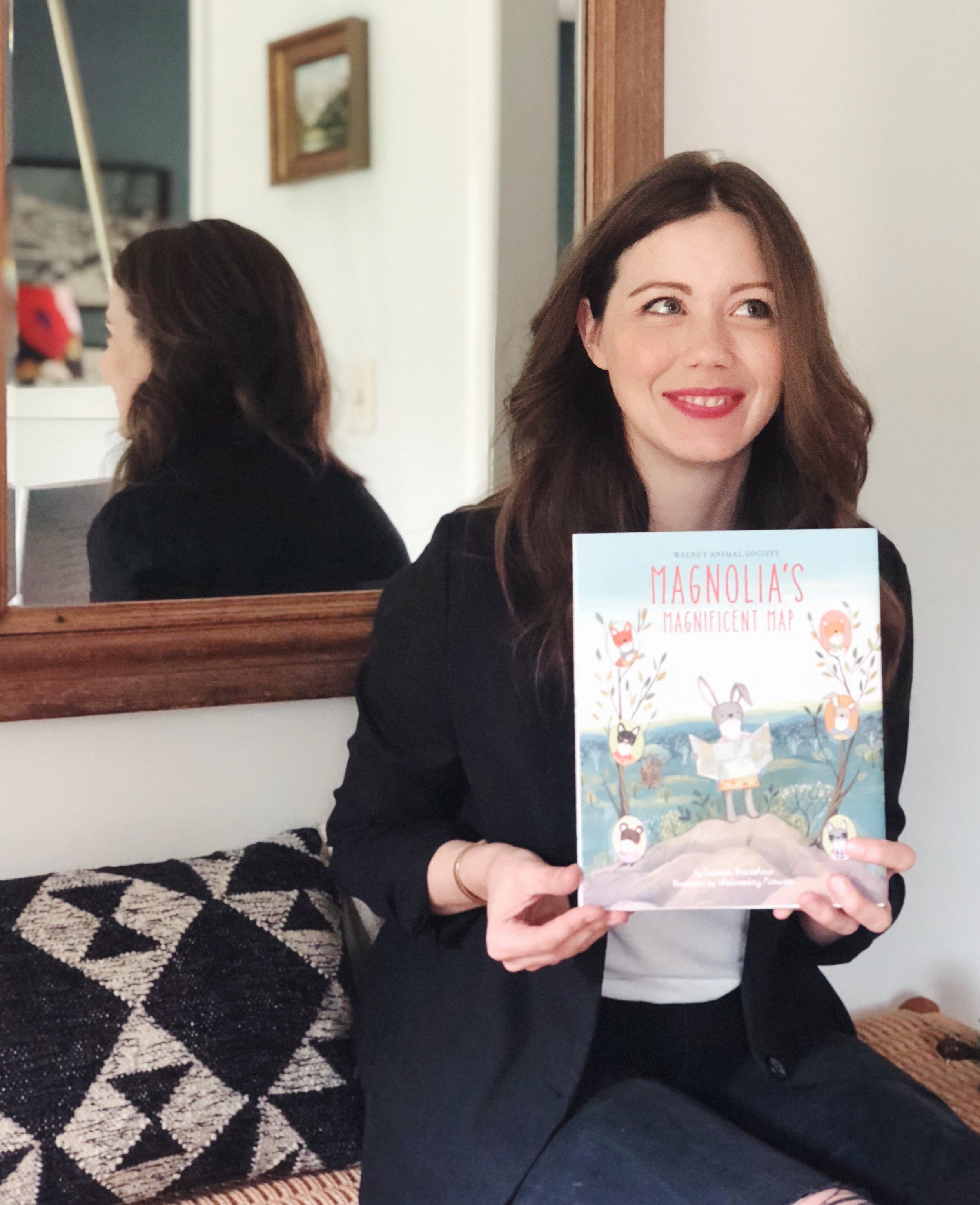 Lauren Bradshaw Magnolias Magnificent Map Author