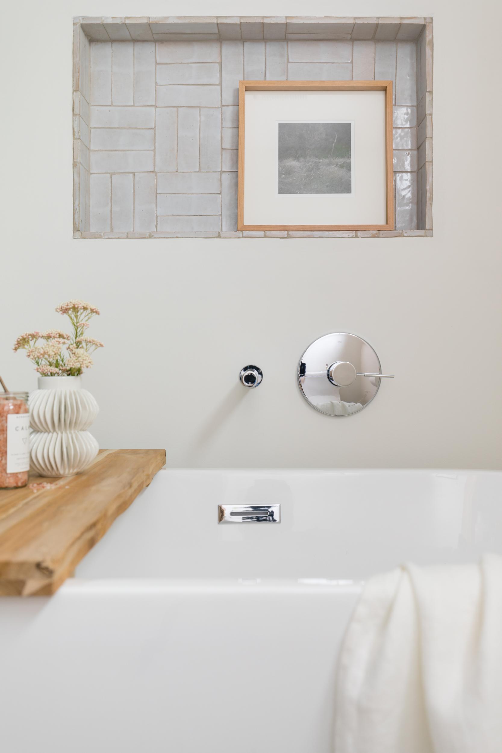Lauren Bradshaw Design Master Bath Tub Niche