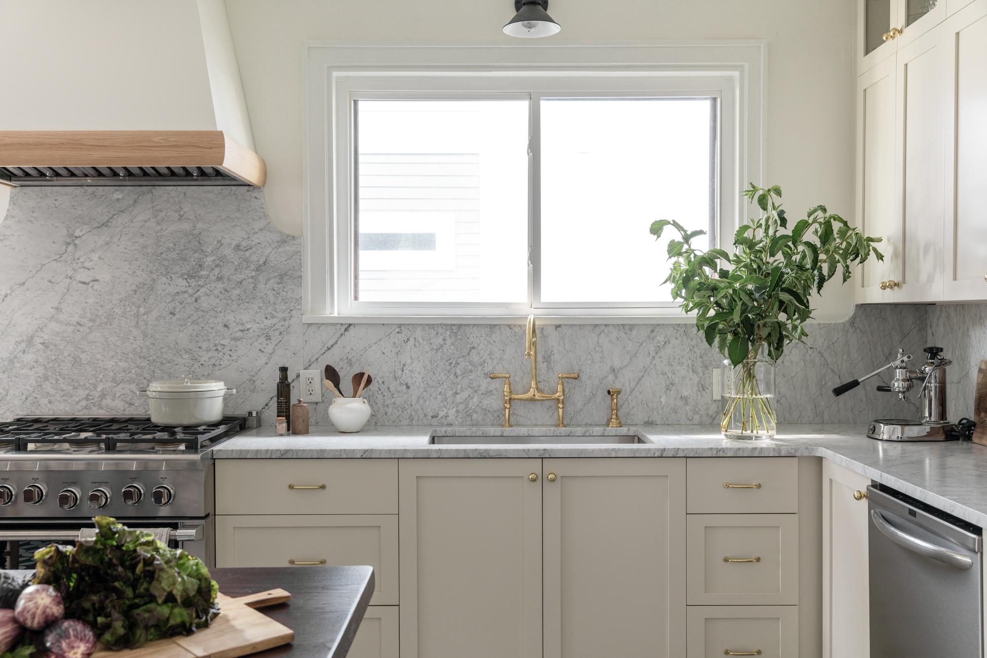 Lauren Bradshaw Design East Hill Kitchen Renovation Rohl Faucet