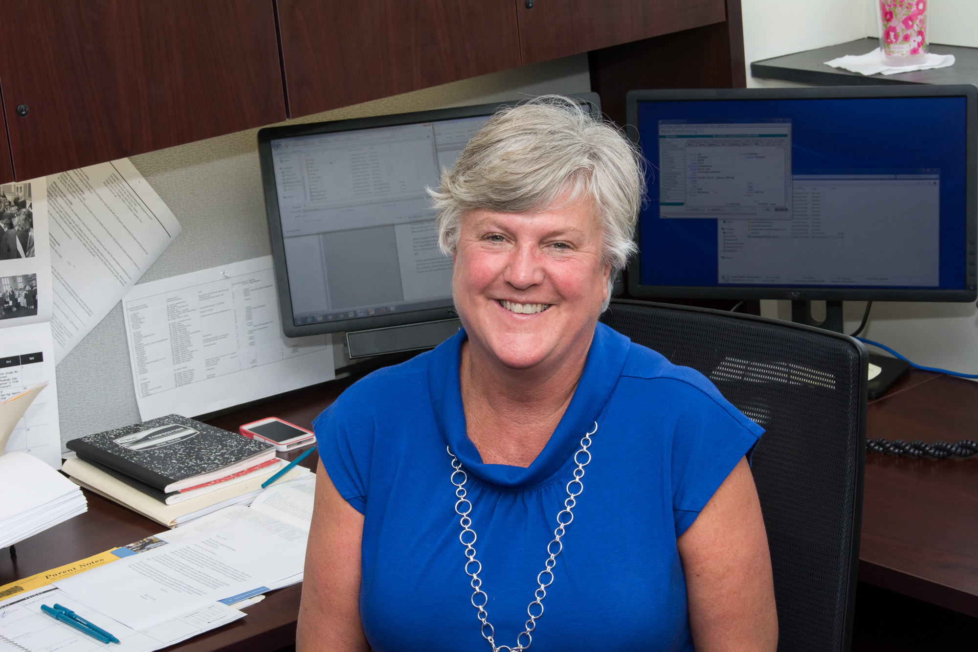 Susan Booth    - Director of Events and Volunteer Engagement  B.S. Notre Dame of MD University 410-685-2145