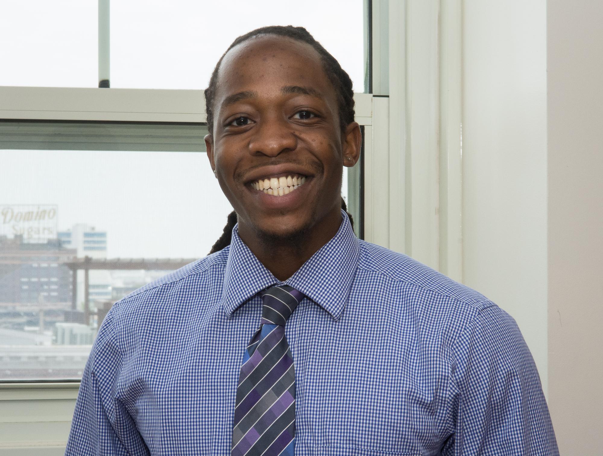 Abraham Attenoukon '03   - Asst. Admissions Director,  6th grade Social Studies; 8th grade Religion  B.A. University of Maryland 410-539-8268 ext. 501