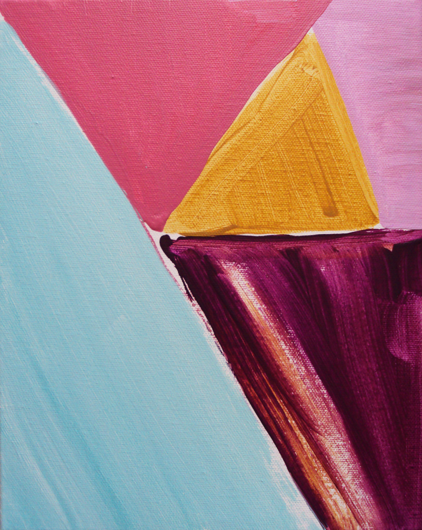 Golden Triangle Pink (2013)