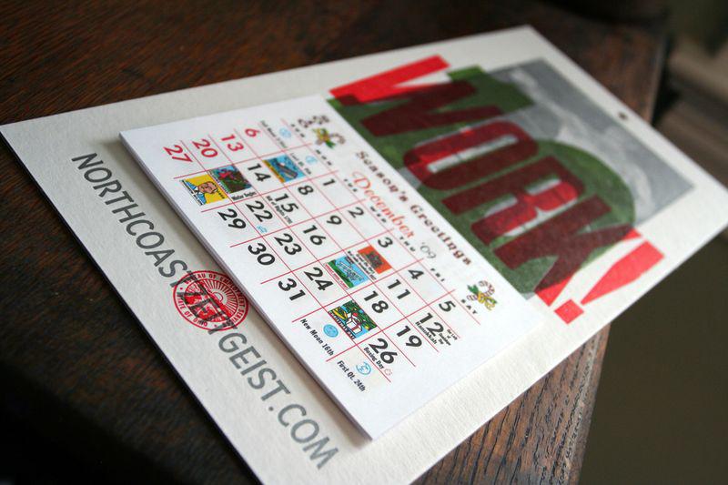 Cranky Pressman Calendar — Angle