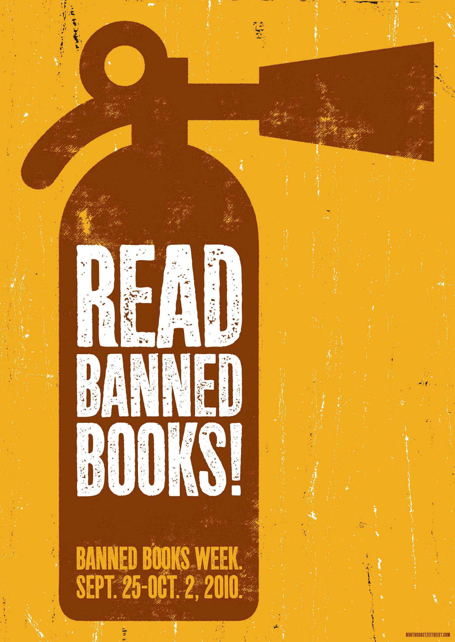 Banned Books Week — Extinguisher