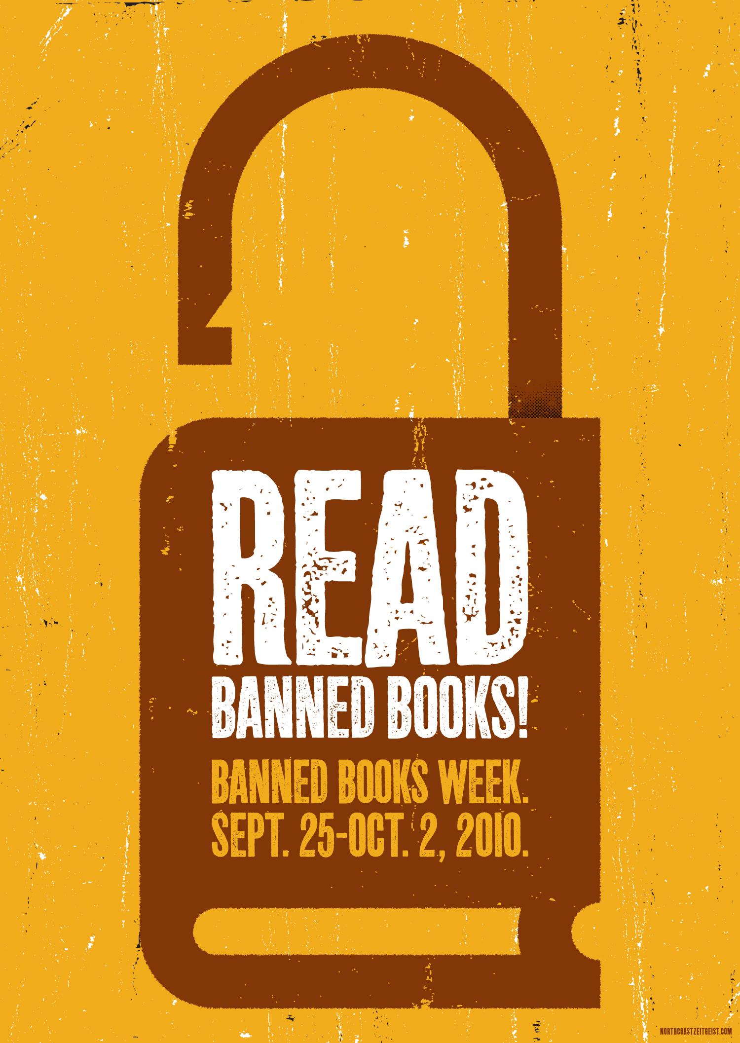 Banned Books Week — Lock