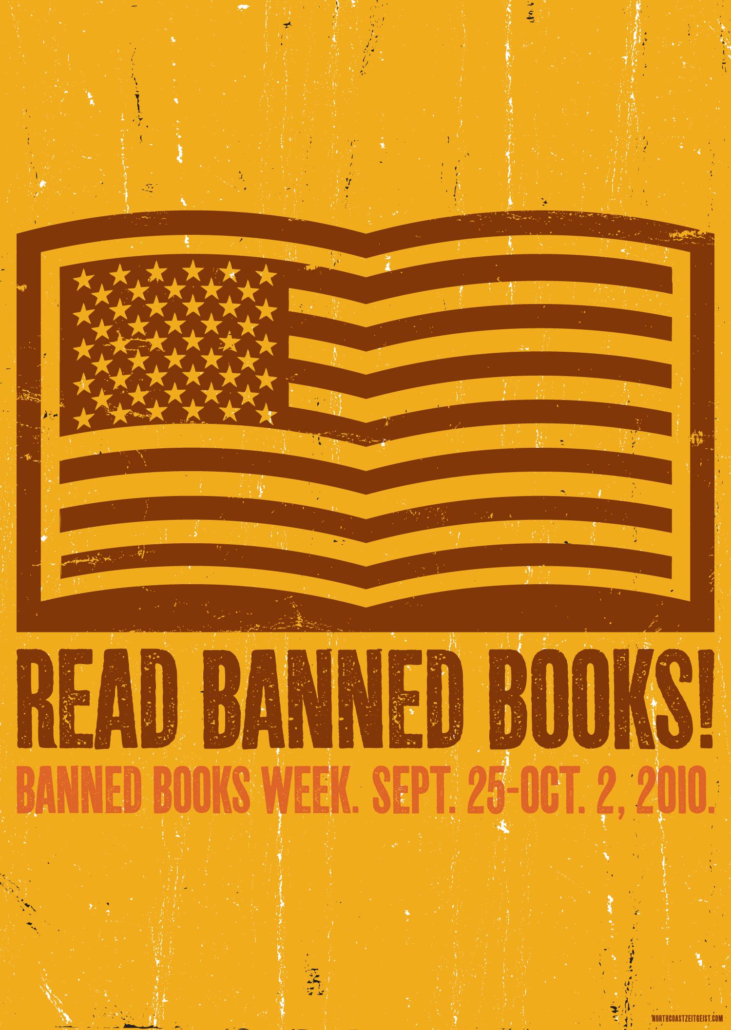 Banned Books Week — American Flag