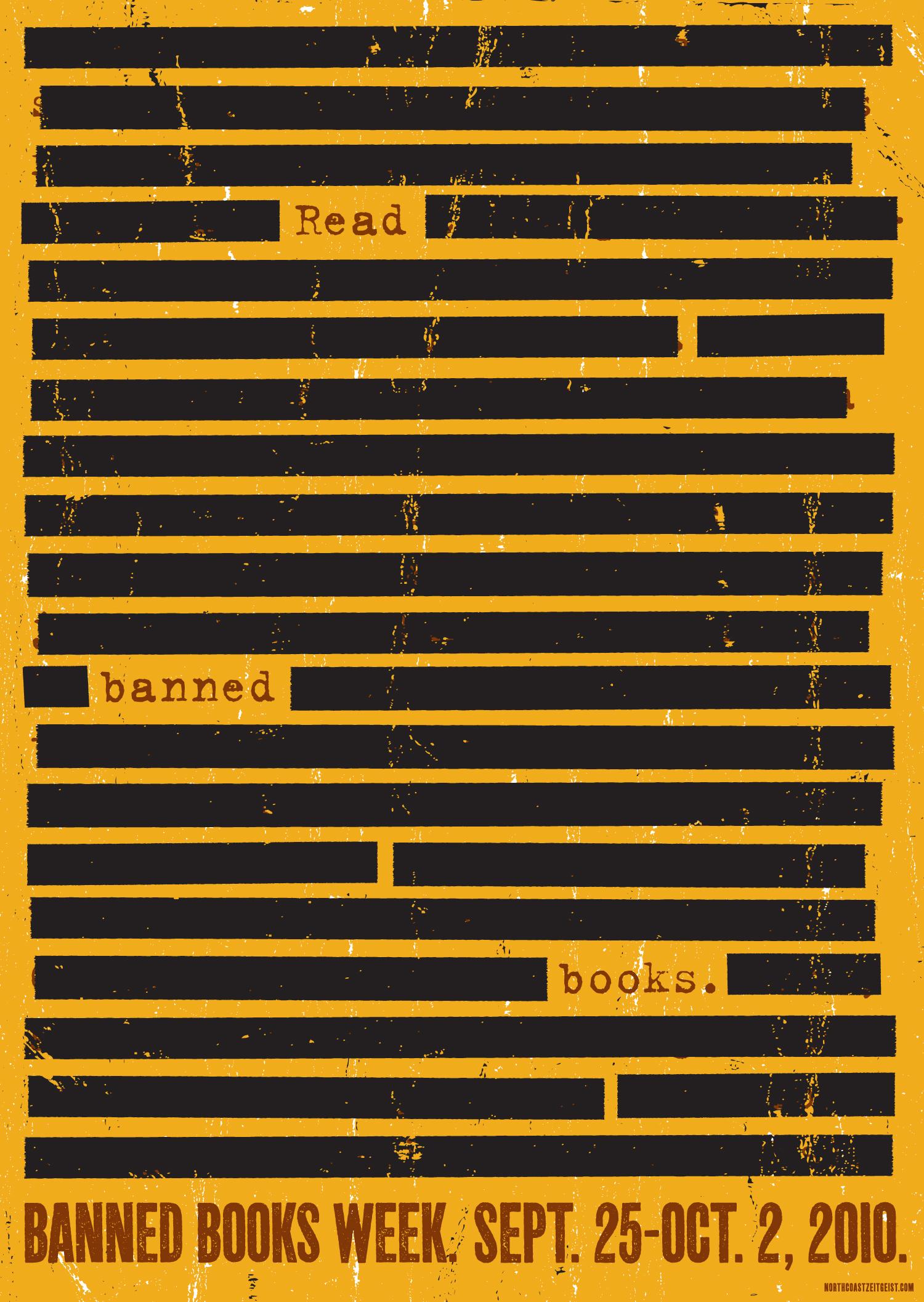 Banned Books Week — Redacted