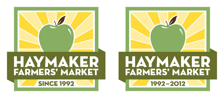 Haymaker Farmers' Market — Green Alternate Logos