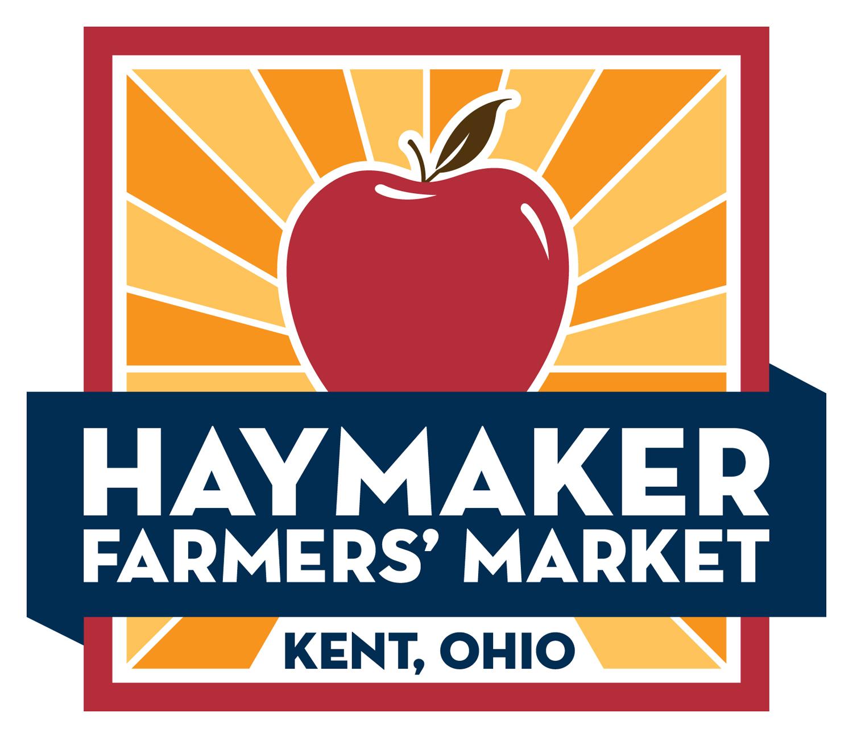 Haymaker Farmers' Market — Red Logo
