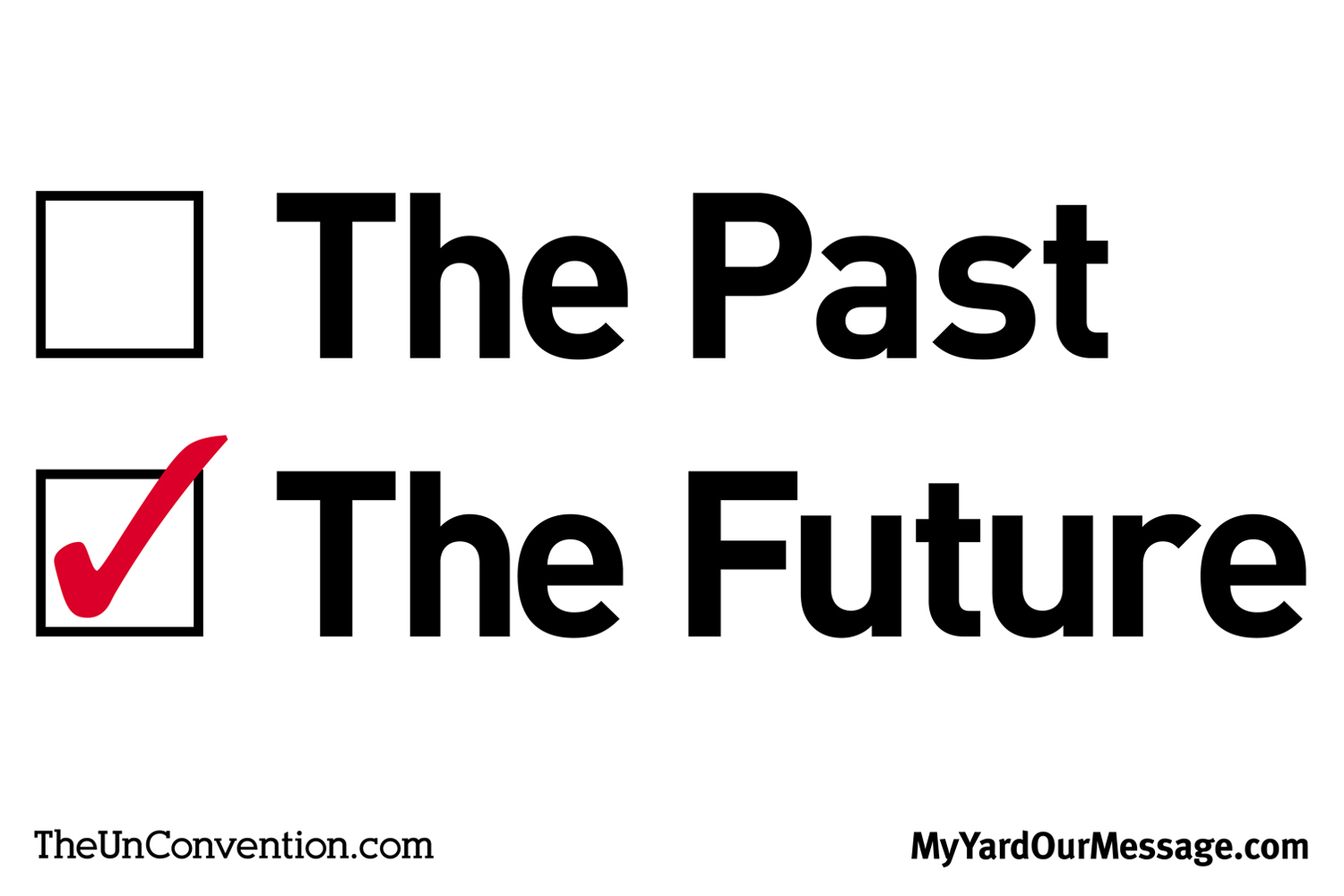 The Past vs. The Future