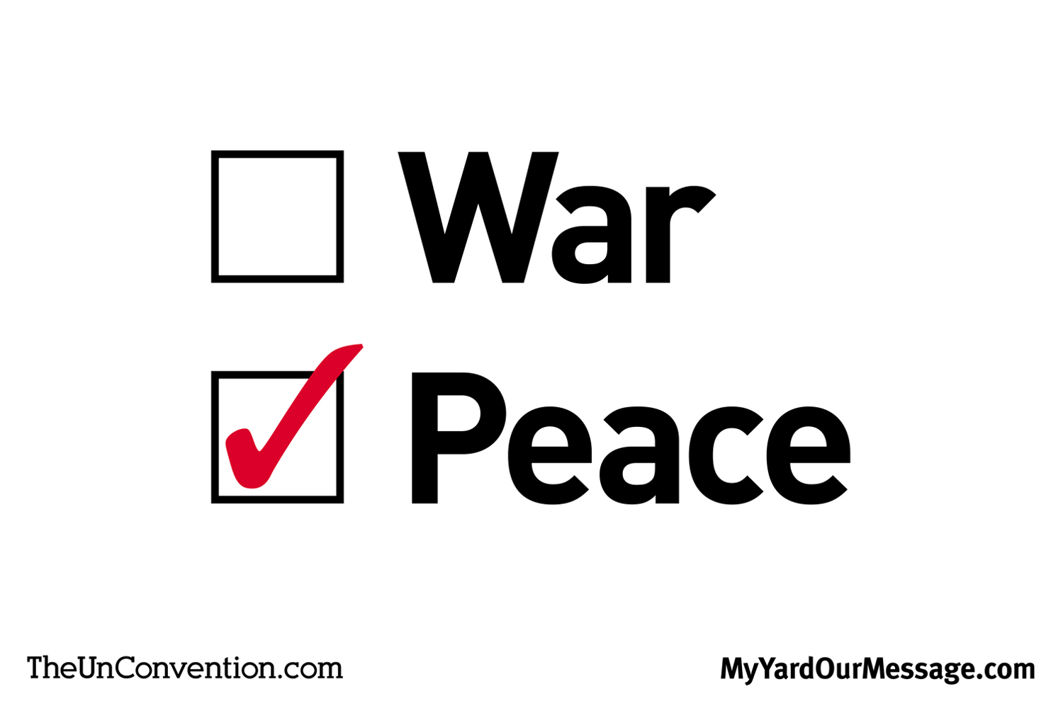 War vs. Peace
