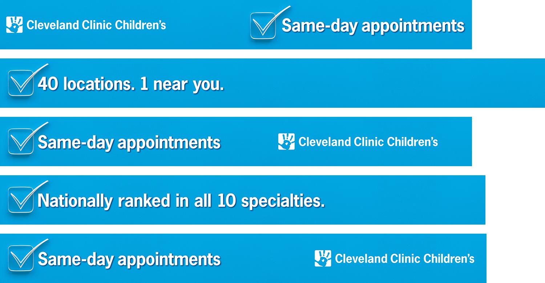 Cleveland Clinic Children's OOH — Bulkhead Panels