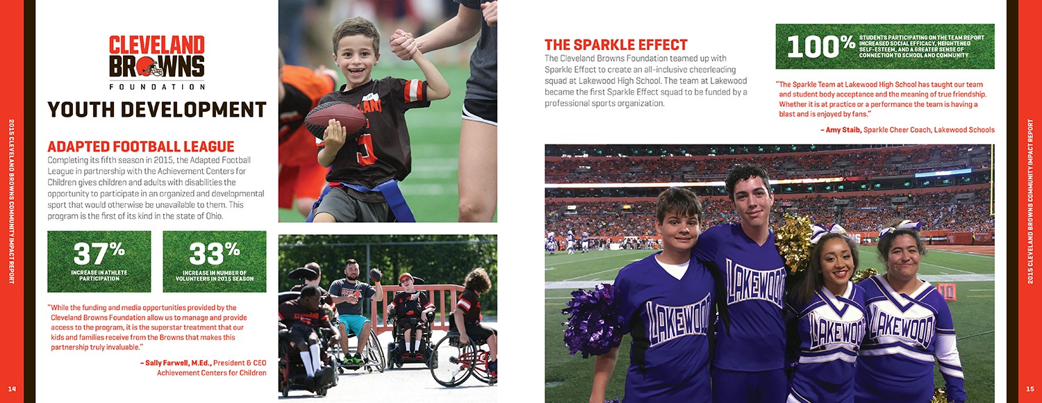 Browns Community Impact Report — 8