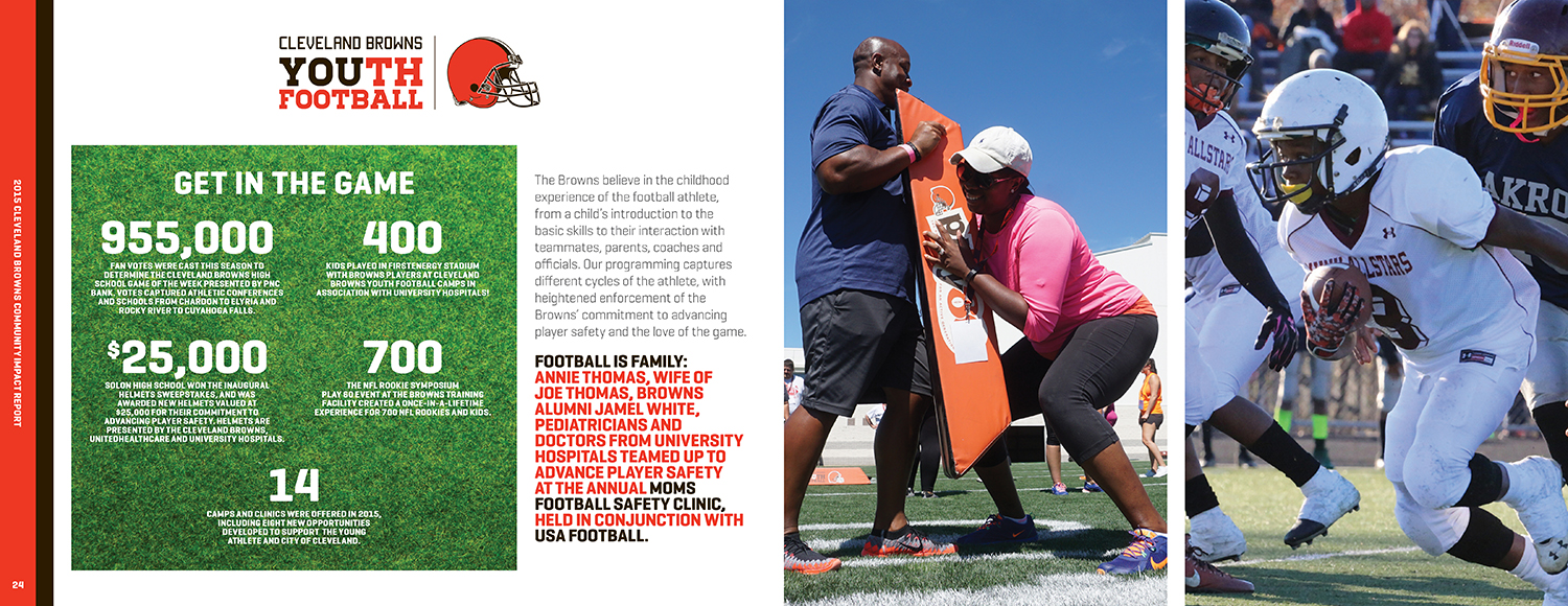 Browns Community Impact Report — 13