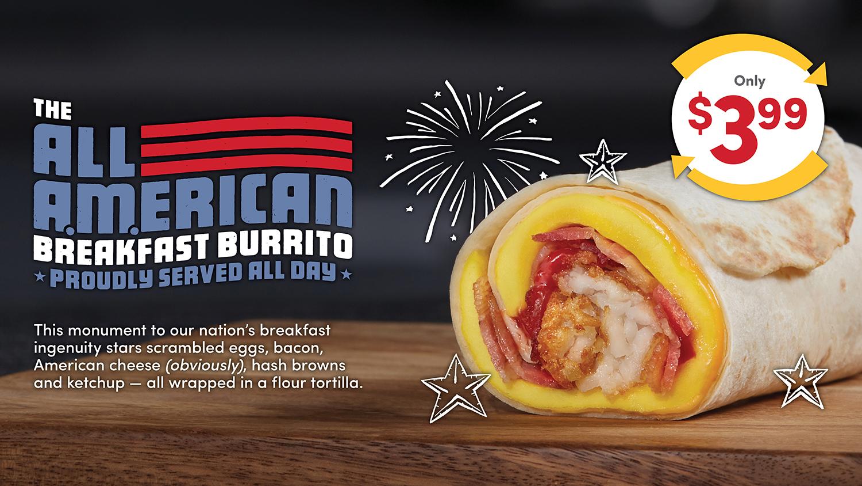 The All-American Breakfast Burrito