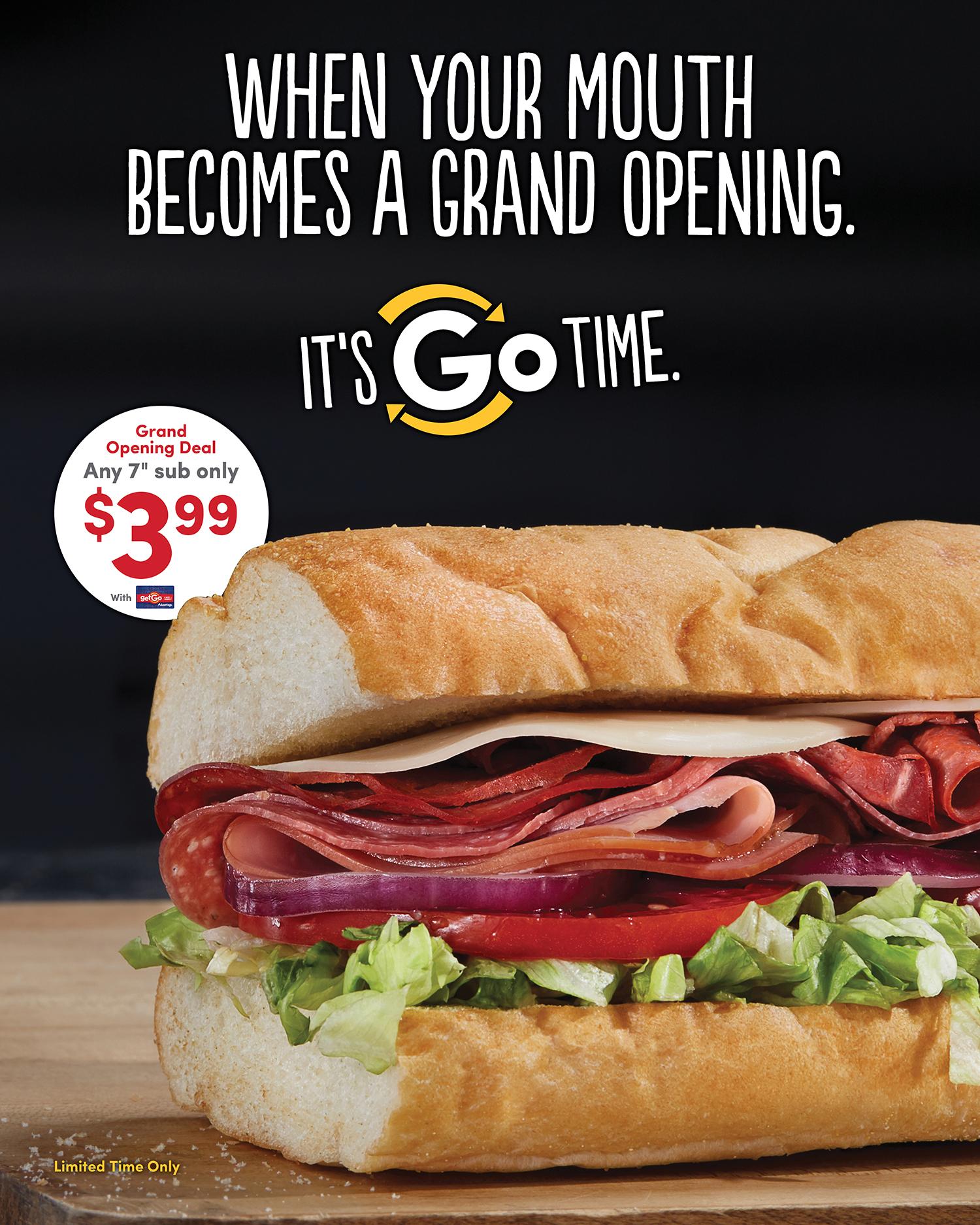 GetGo Store Openings — Poster 1