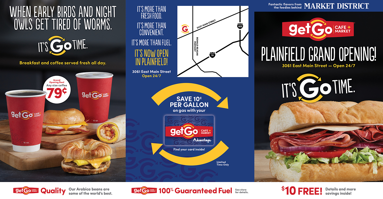 GetGo Store Openings — Direct Mail 1