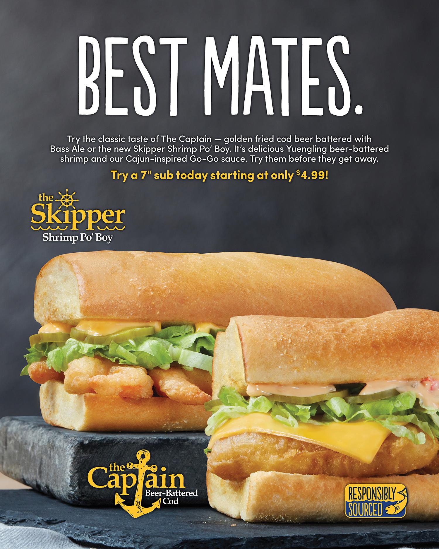 Seafood Subs