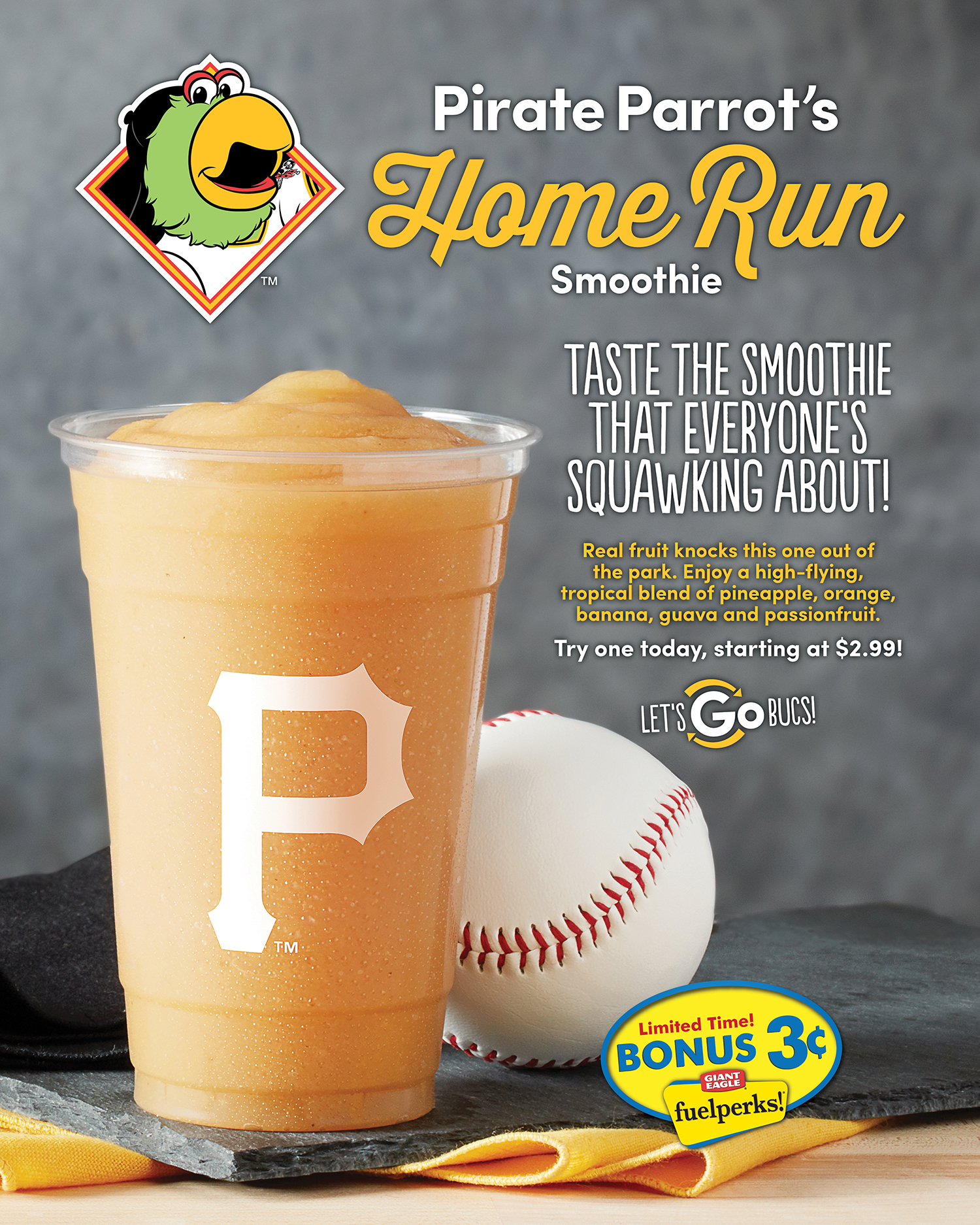 Pirate Parrot's Home Run Smoothie