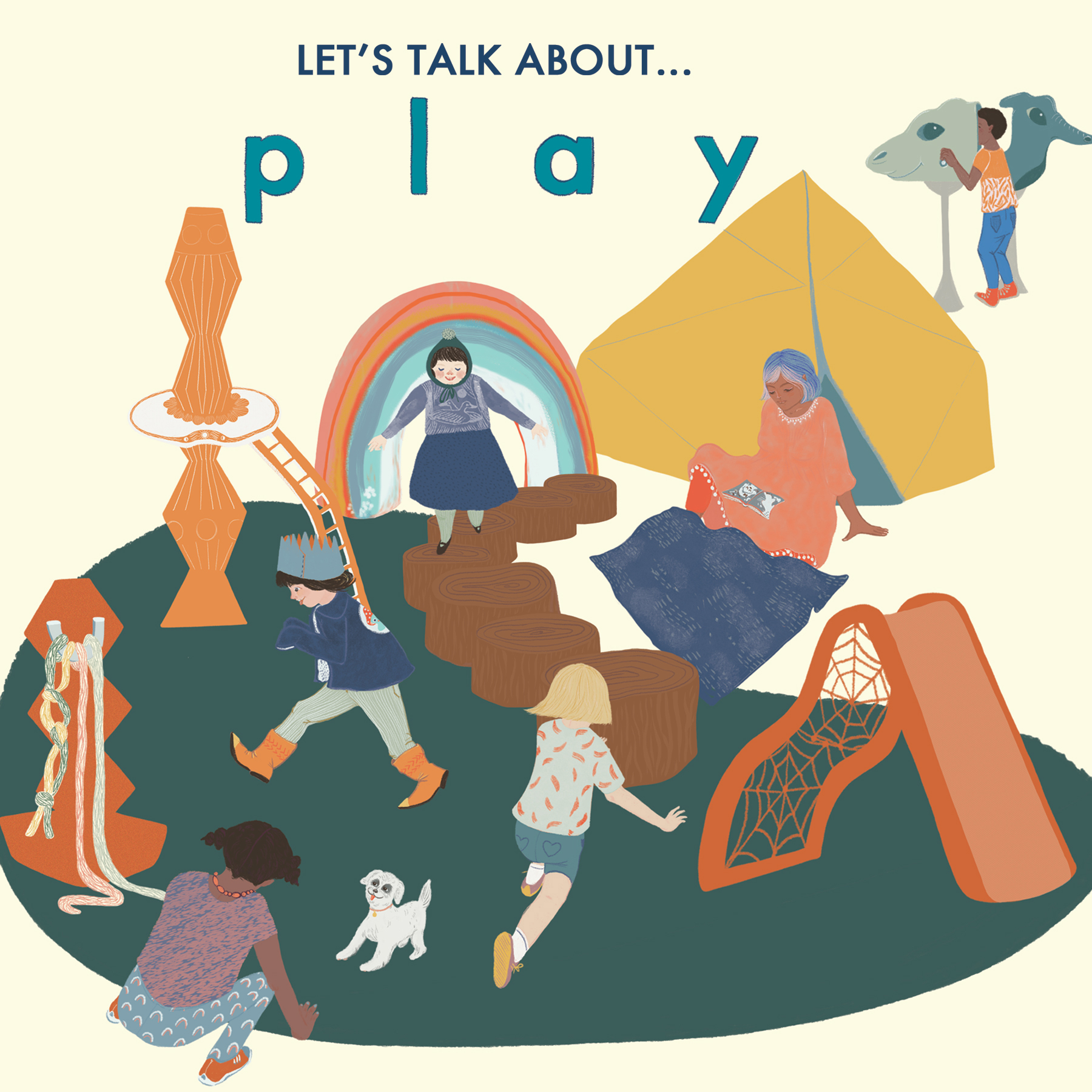 Let's talk about...play (poster: Kiarra Albina)