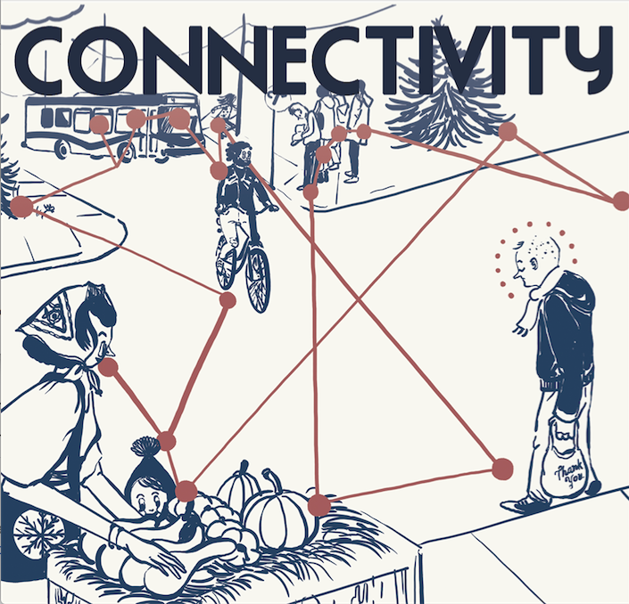 Let's talk about…connectivity (poster: Kiarra Albina)