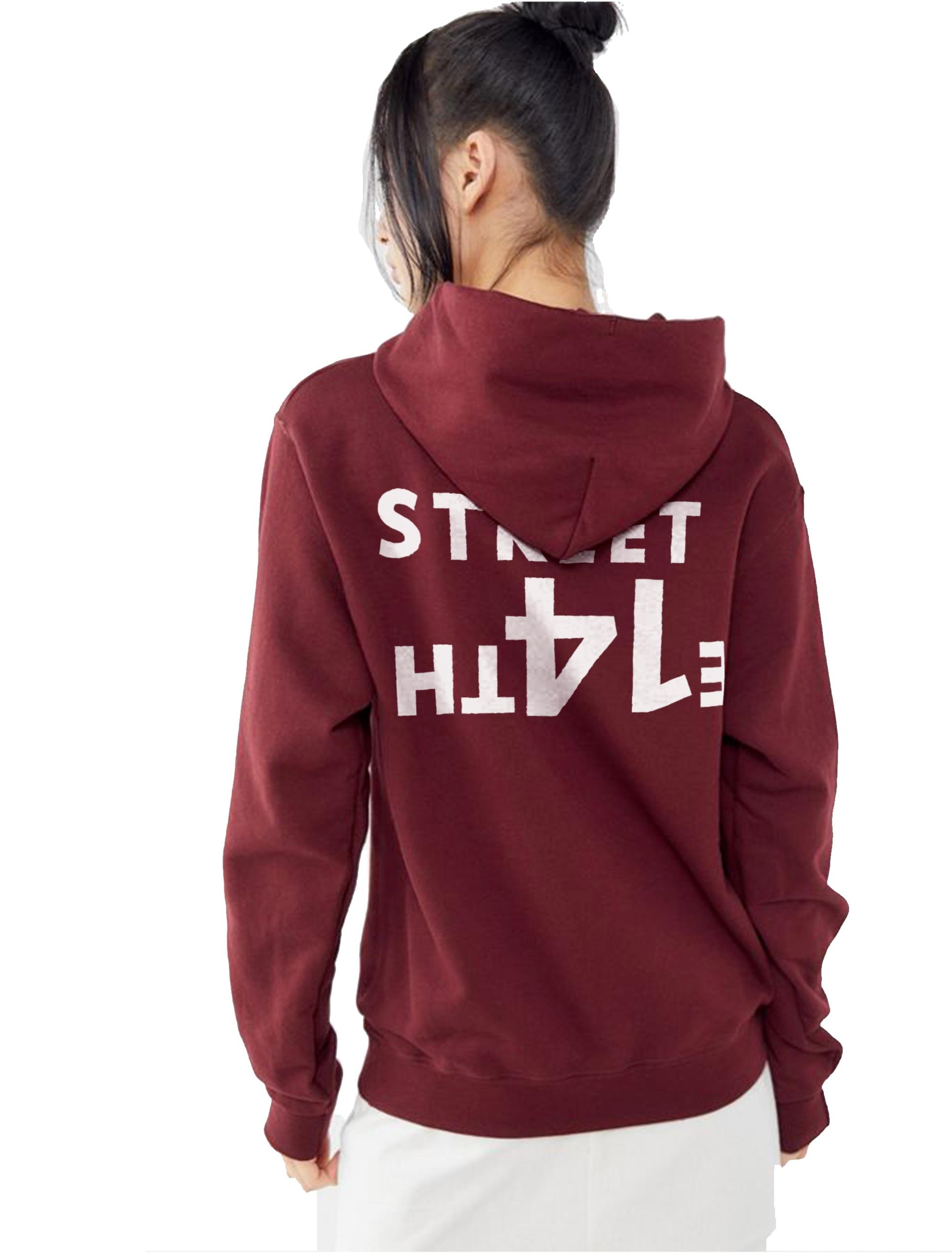 Sky_Oak_Co_East_14th_Street_maroon_white_hoodie_back_female_model.png
