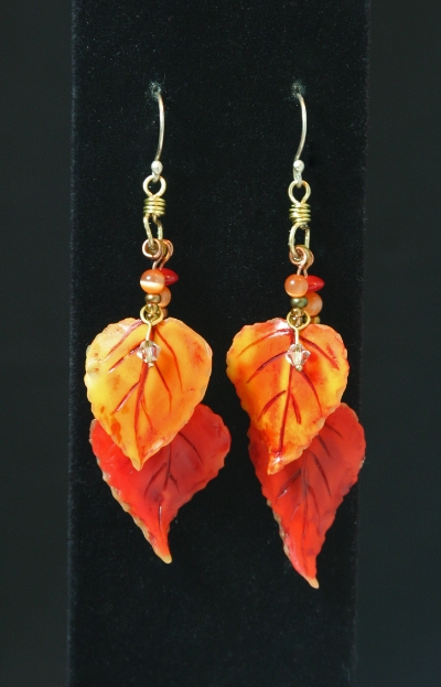 Touch of Fall earrings