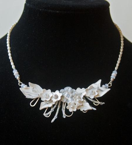 Audrey's Bridal necklace