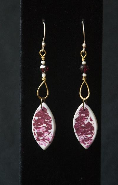 Bellflower Remembrance earrings
