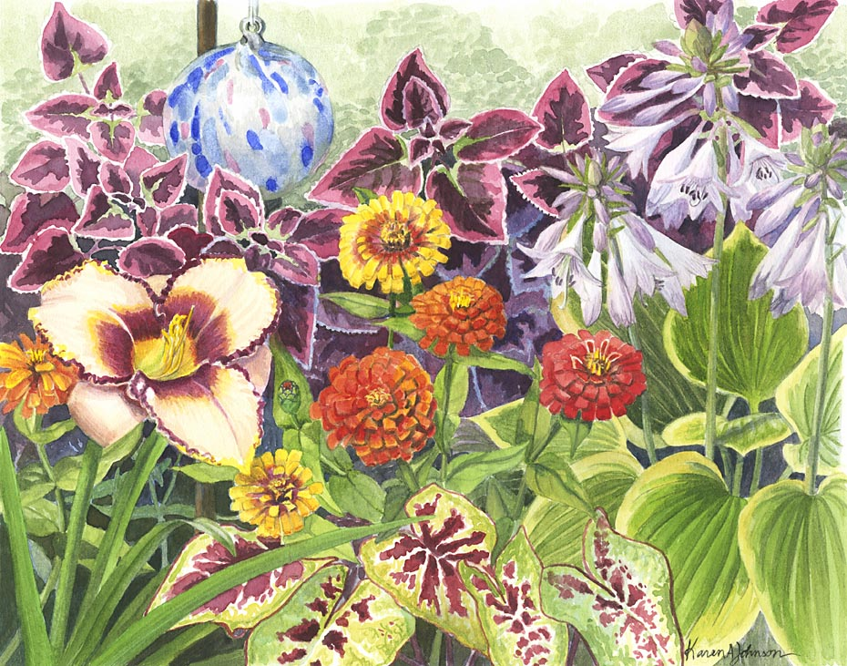 Jean's Garden 1