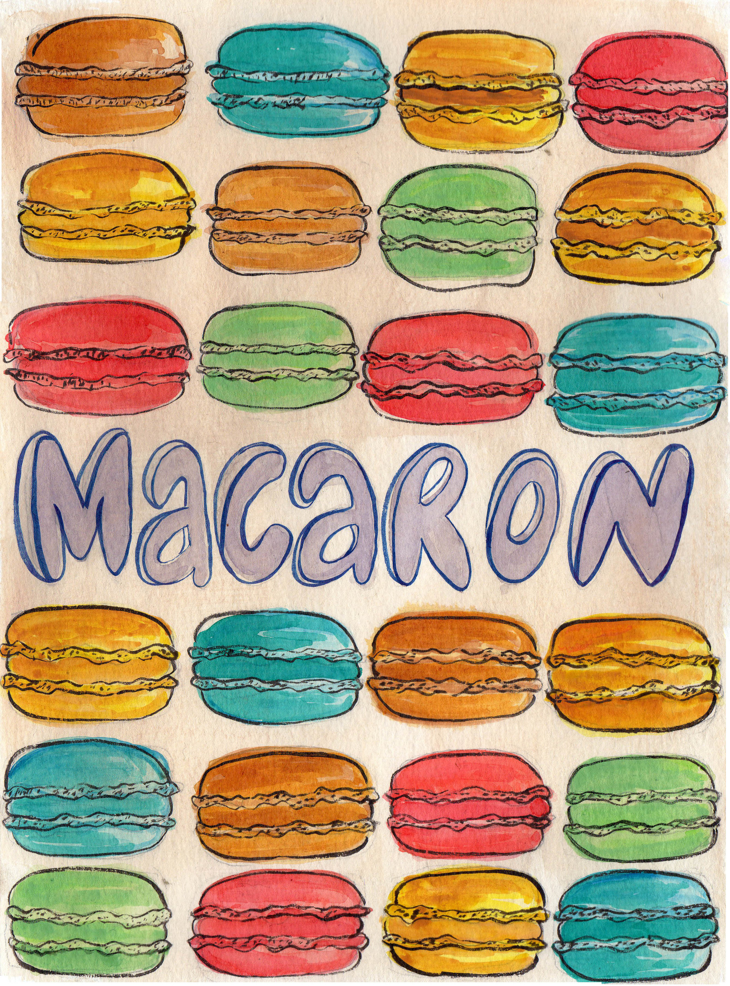 Macaron NOT Macaroon
