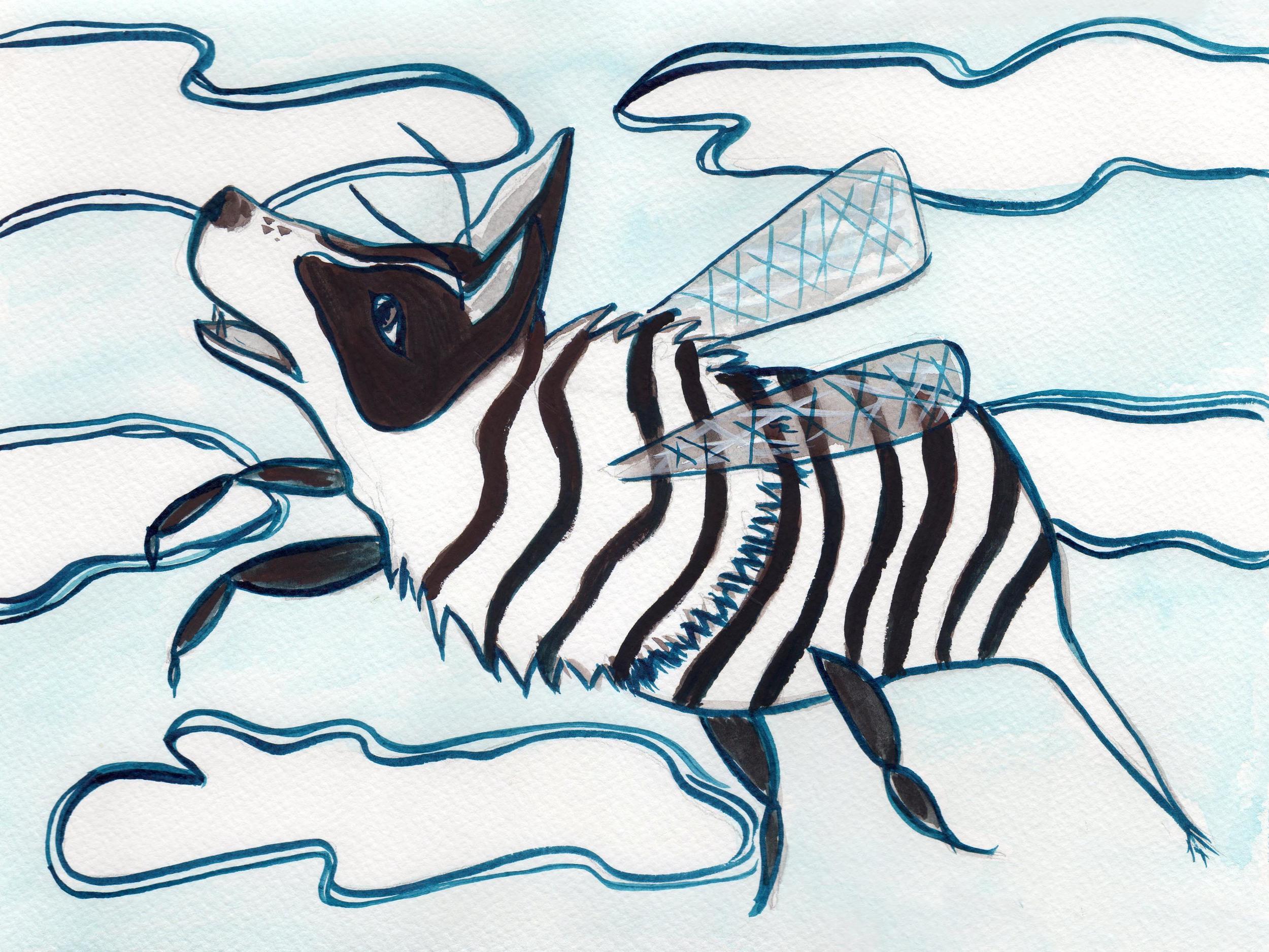 Zebra Bee