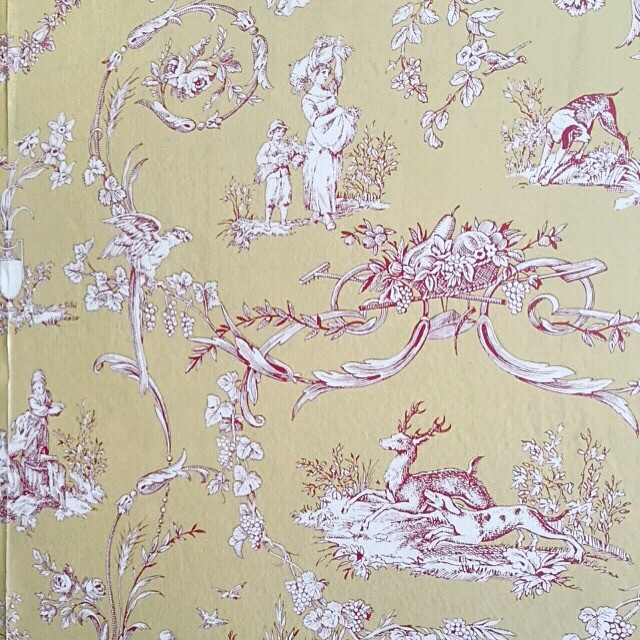 The gorgeous toile wall paper in the Atlantic Hotel, the smell of teek wafts at you as soon as you open the doors. My aunt shared stories of when they stayed there as kids and a couple ghost stories YES.