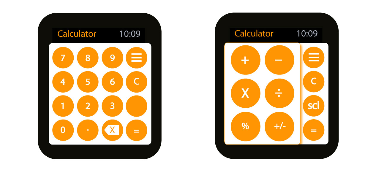 Calculator, Apple Watch