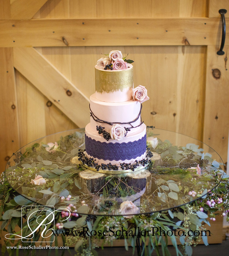 Cake by Cake Beautiful, Chester, NY  Flowers by Corwin Florist, Warwick, NY
