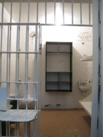 Prisoner's cell from old Brushy Mountain Prison--Tennessee Department of Correction.