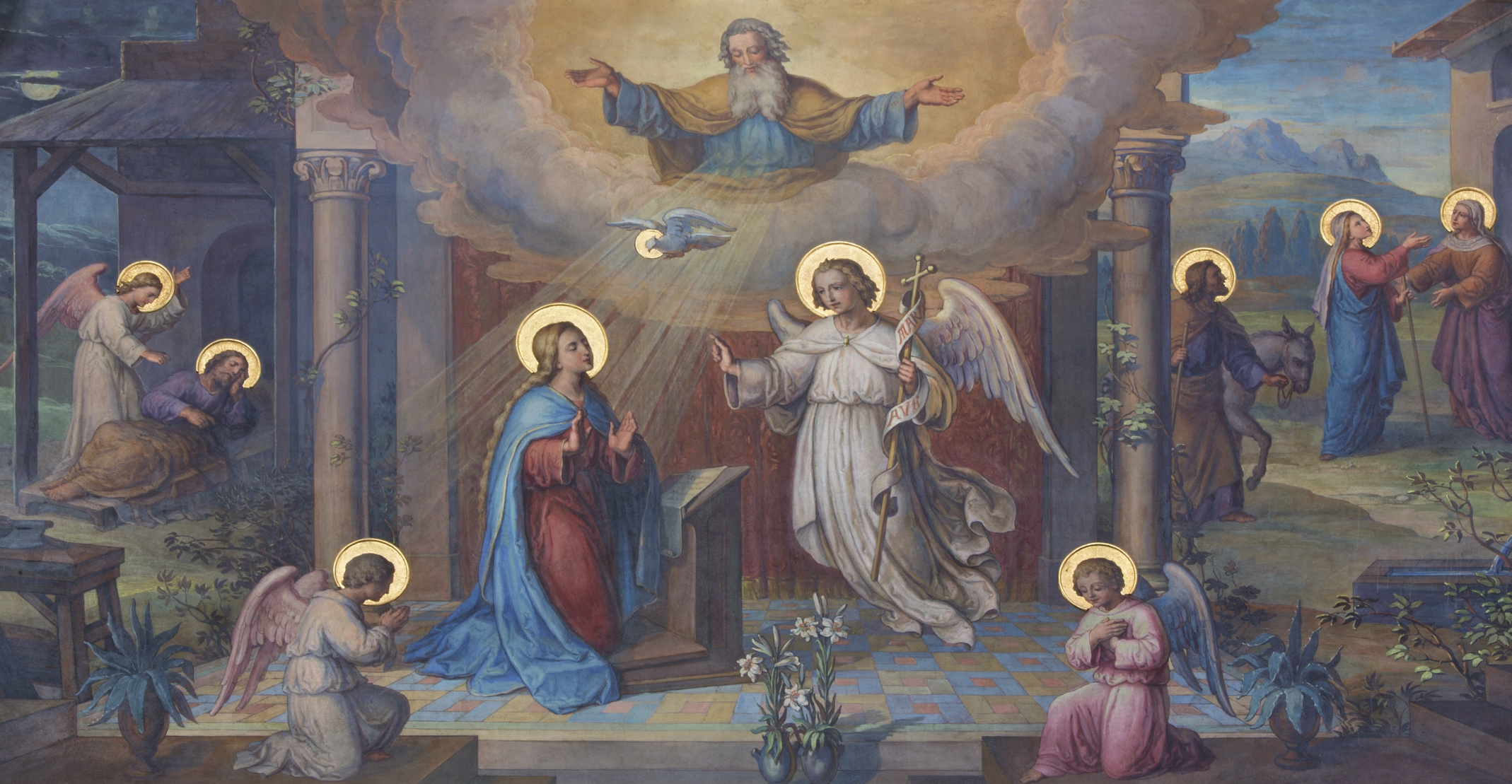 Mary's Fiat - Let it be done unto me according to Thy will.