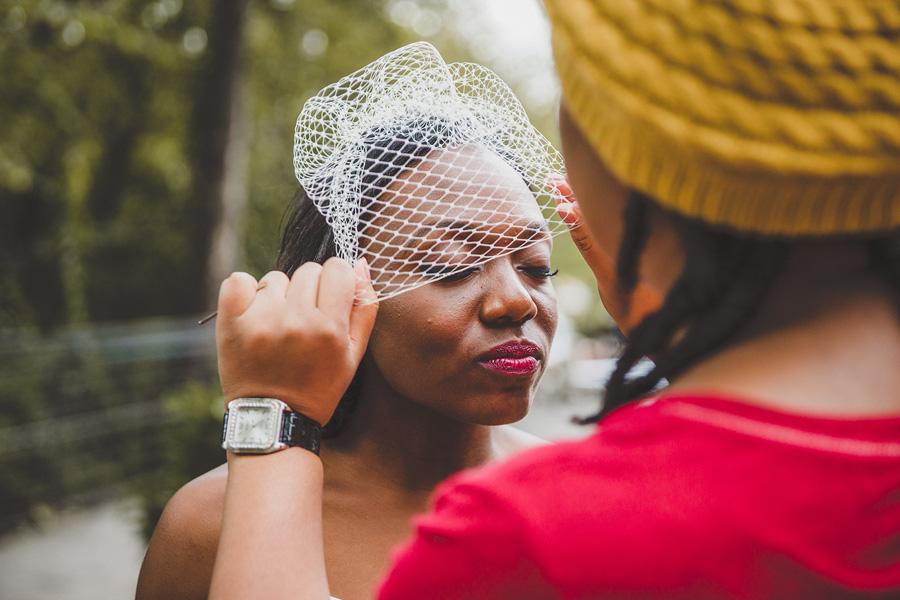 black bridal makeup Atlanta