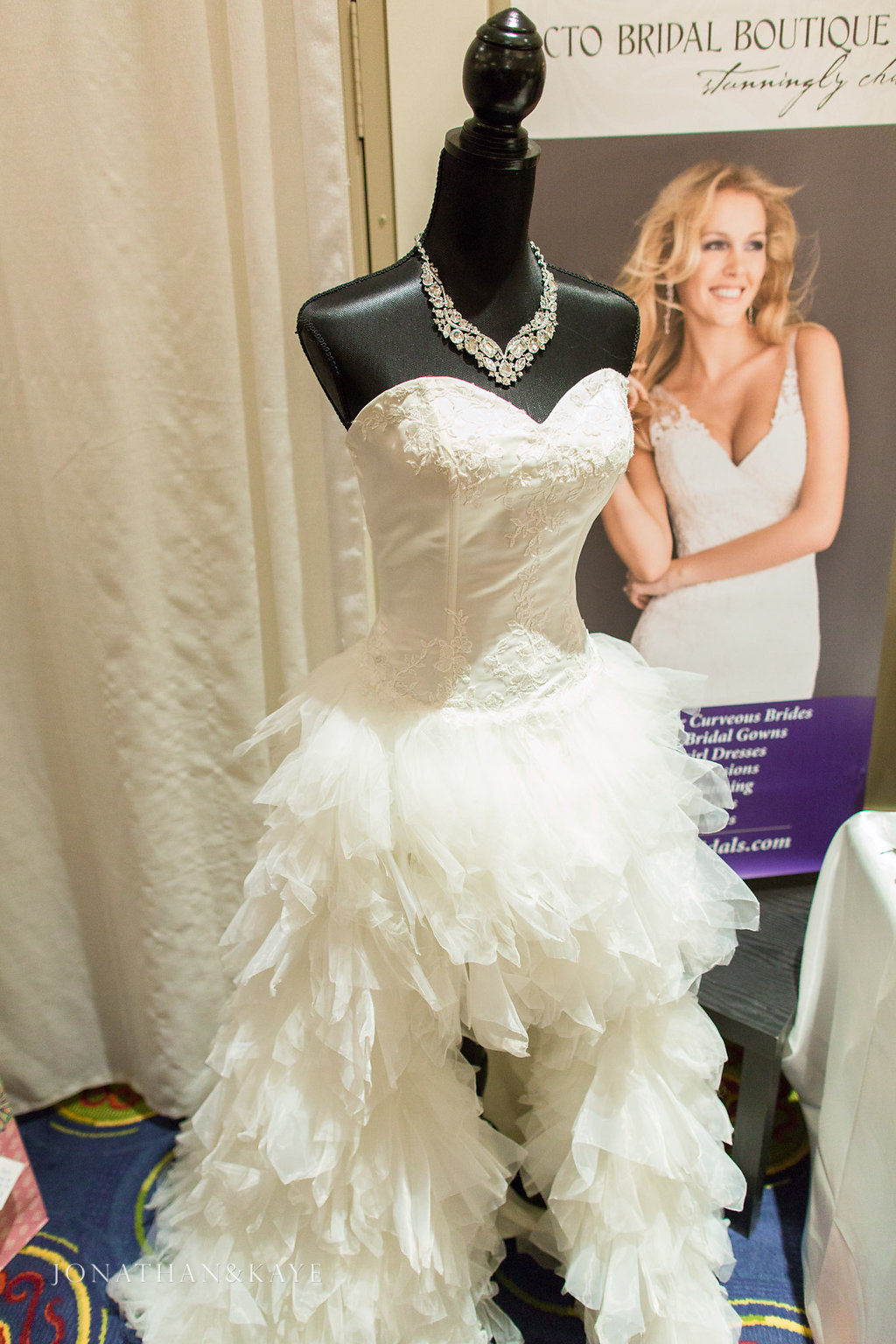 "A gorgeous gown for the ""Fashionista Bride"" from CTO Bridal Boutique, photography provided by Jonathan & Kaye Photography"