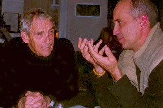 The late Peter Matthiessen and Charles Carlson.