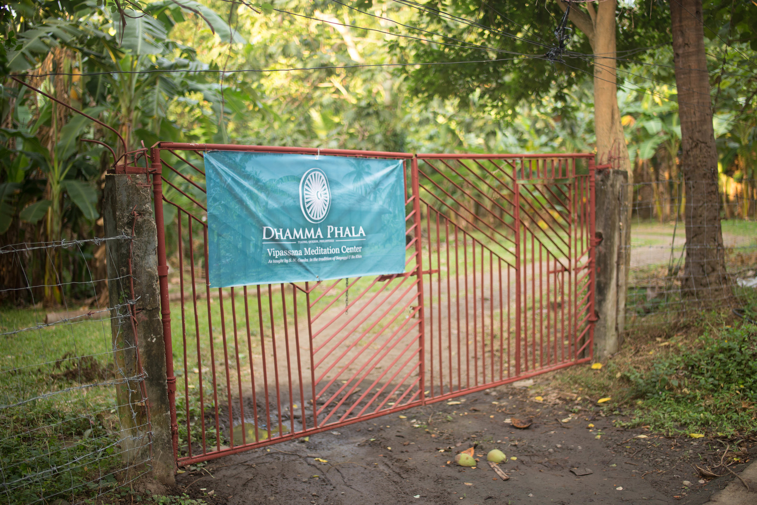 Entrance to Dhamma Phala