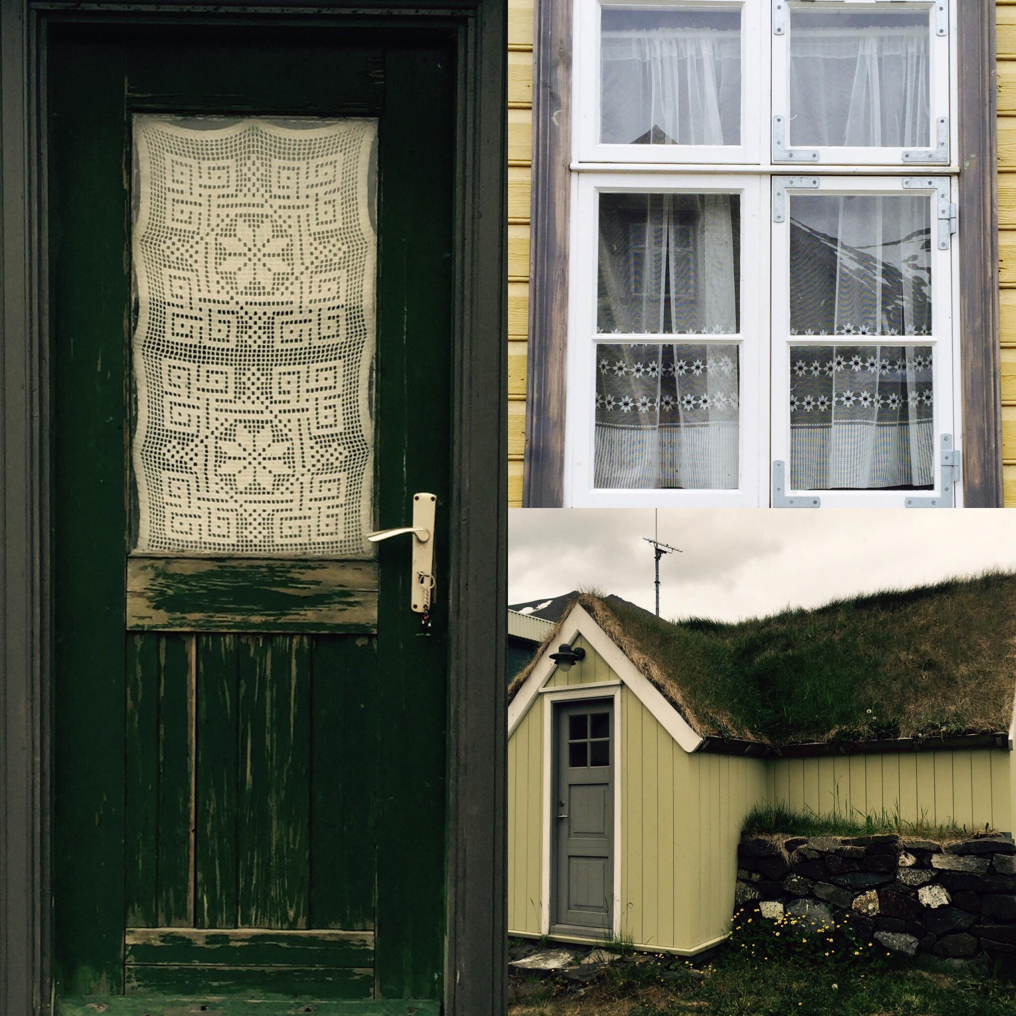 domestic details in Siglufjordur