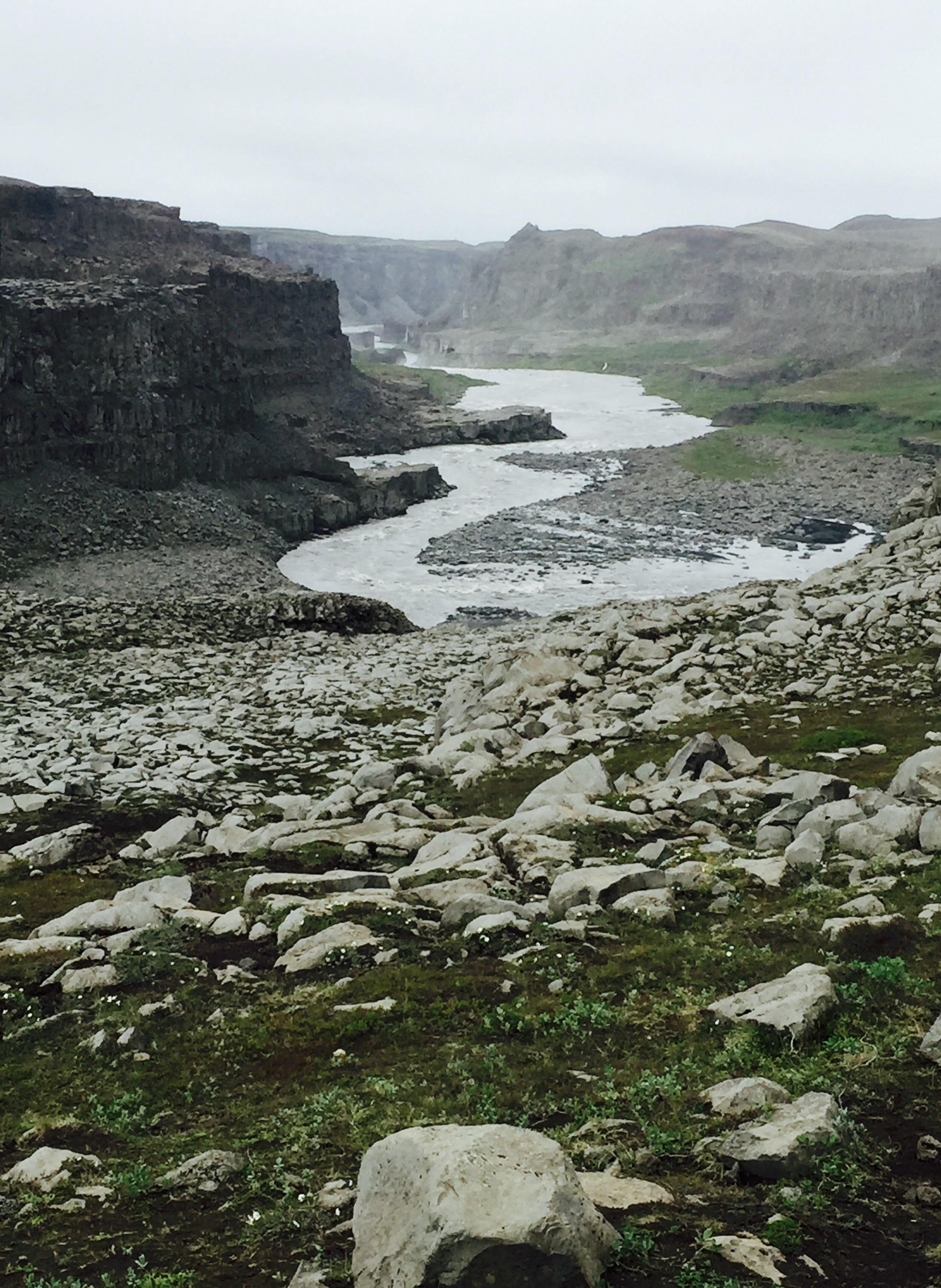The river Jökulsá á Fjöllum