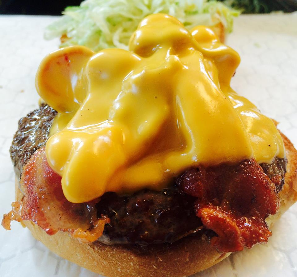 All burgers are fresh ground and grilled fast to order -
