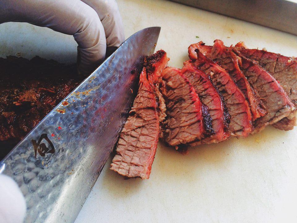 Freshly smoked BBQ -