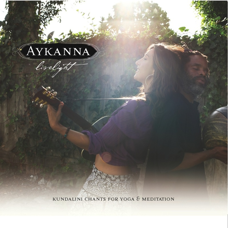 The first installment of Aykanna's legacy, Livelight, is a masterful album. A unique blend of conscious songwriting, devotional music, and mantra chanting, these songs will up-lift and enliven your spirit, mind, and body. Perfect for time in the car, or a soulful yoga practice. This musical medicine is a tool for everyone and a resource for teachers andhealers.