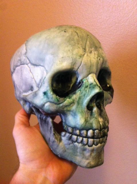 Alas, poor... Yorick?  Reginald?  Larry?  They all look alike after a few months.