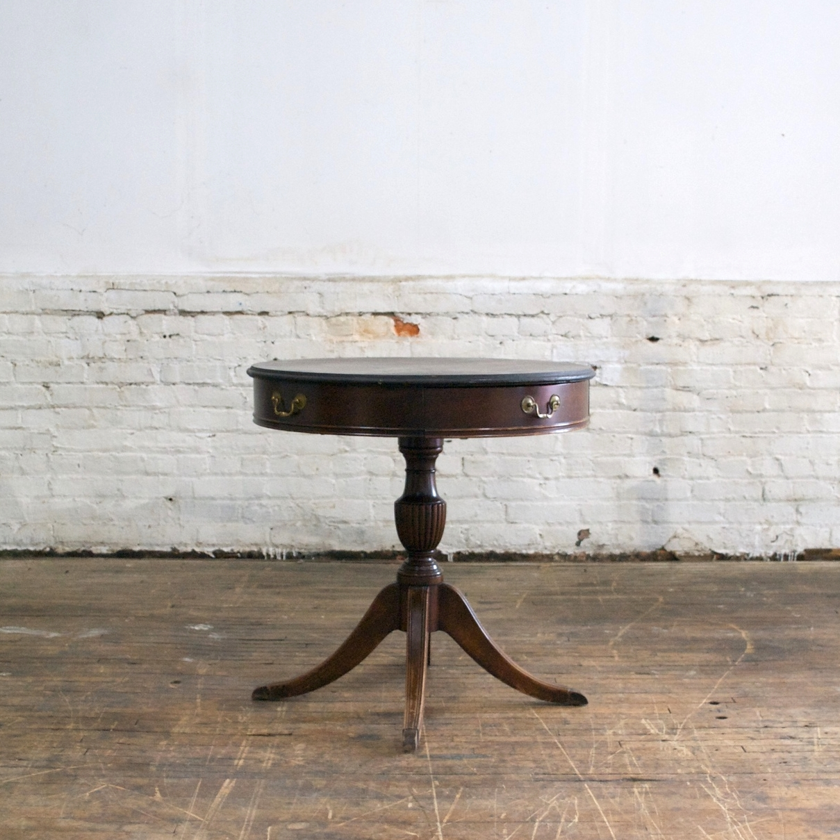 """Federal Side Table    $38    20""""across, 29""""h"""