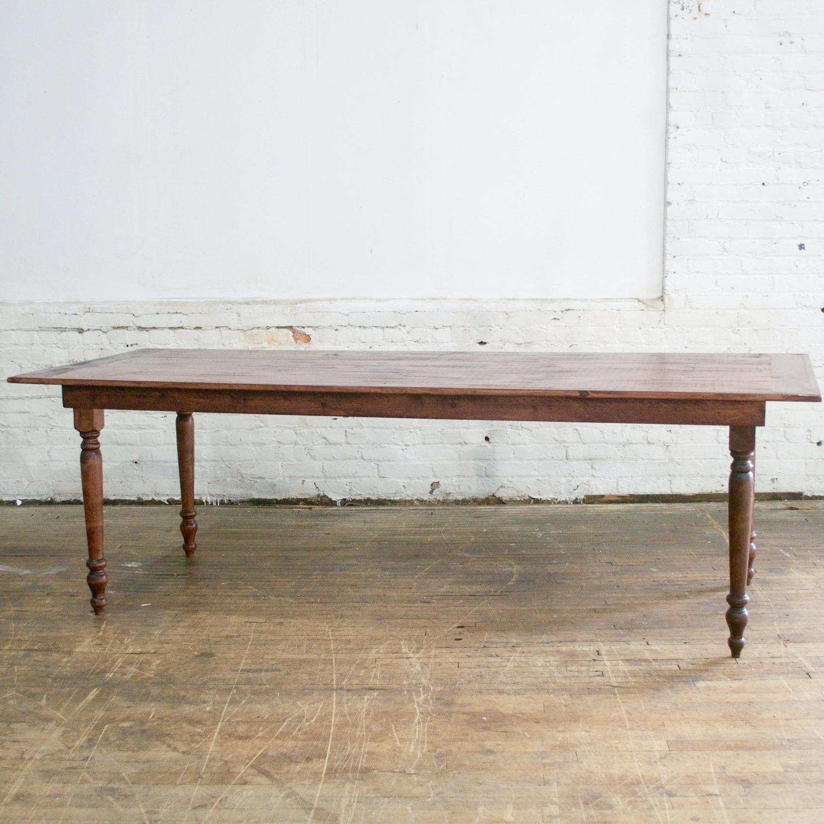 Redford Farm Tables    Inquire for availability    8'l x 3' w